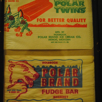 Late 40's/Early 50's Vintage Ice Cream Packaging - Advertising