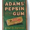 Antique WRIGLEY'S Pepsin Chewing Gum Advertising Sign Box
