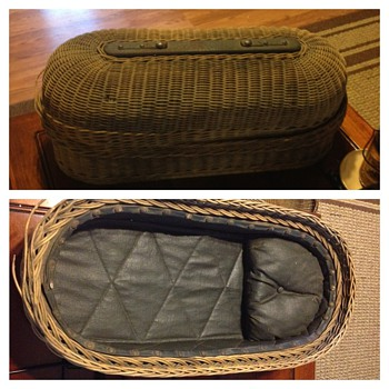My Durfee Embalming Co infant retrieval basket. - Victorian Era