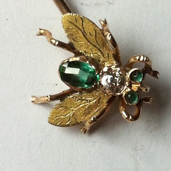 Bzzzz! Fly stick pin. - Fine Jewelry