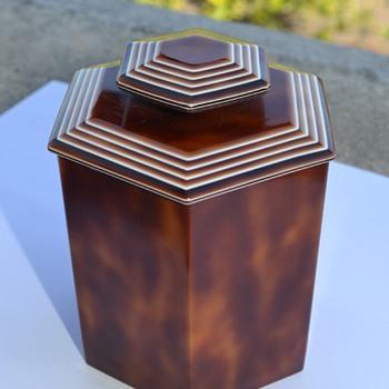 Lea Stein Box - 1970's - Art Deco