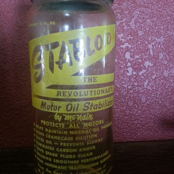 STABLOID..the Revolutionary Motor Oil Stabilizer by McNair