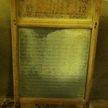 Glass washboard - Tools and Hardware