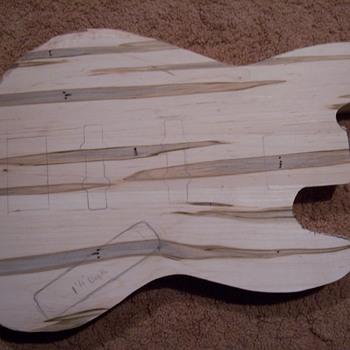 Future collectable?-- bass guitar build - Guitars