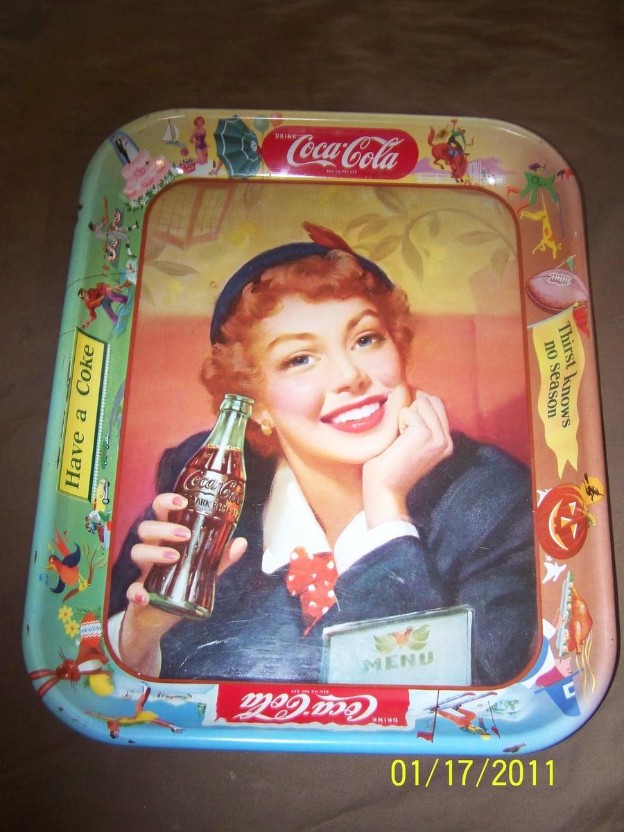 coca cola tray | Collectors Weekly