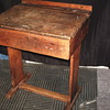 """OAK School Desk""""Early XX Century"""""""