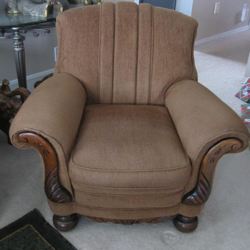 Old straw chairs - Furniture