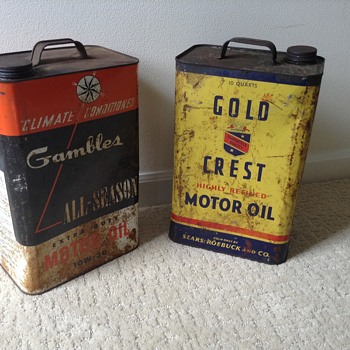 Great colors on these cans! Love them. - Petroliana