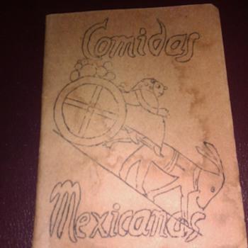 Comidas Mexicanas  Los Angeles Pasadena Settlement House 1945 Cook Book - Books