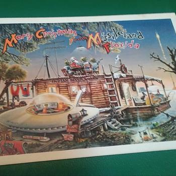 Vintage NASA Florida. Christmas Cards - Cards