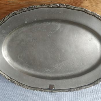 Silver plate - Silver