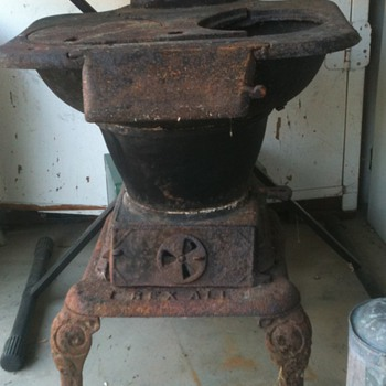 Rexall No 8 Stove.....what was this type of stove's original purpose?