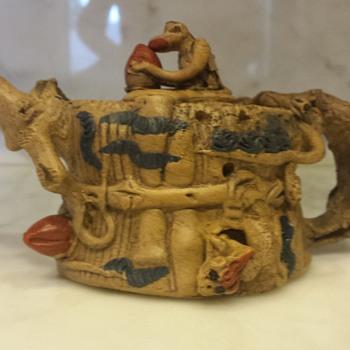 Ceramic Teapot - Asian