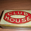 H B Fuller Club House Cigar Tin Box