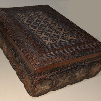 Carved jewelry box (continued) - Fine Jewelry