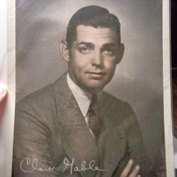 MGM Clark Gable studio photo - Photographs