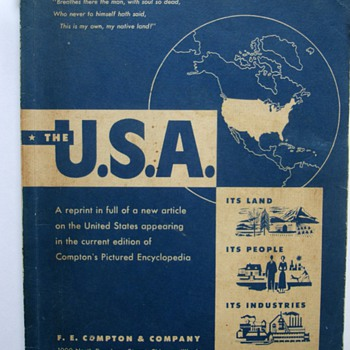 Vintage U.S.A book. - Books