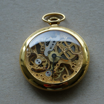 Pocket Watch - See through mechanism - Pocket Watches