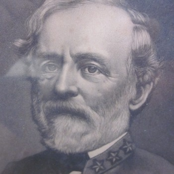 19th Century Engraving of Robert E. Lee - Photographs