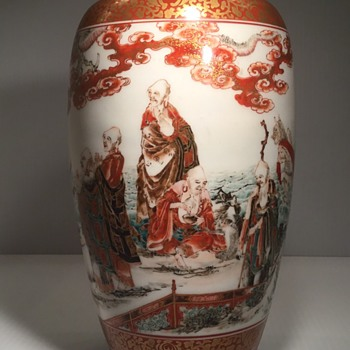 My favorite Kutani vase.