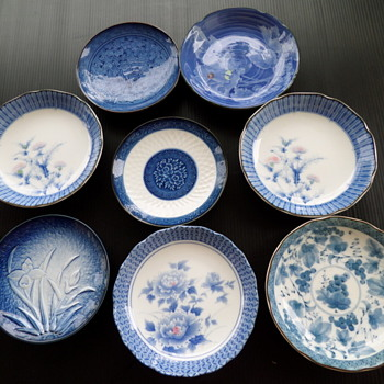 Small Asian porcelain plates. : asian dinnerware set - pezcame.com
