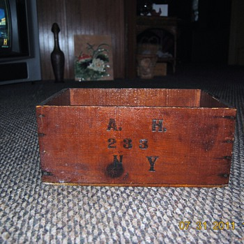 Another old wooden box I have sitting around...N R A rocks... - Furniture