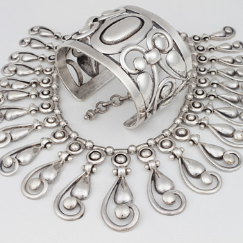 Frank Patania Sr.; American Master of silversmithing (1899 to 1964) - Fine Jewelry