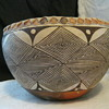 Acoma Fine Line Pot with Pie Crust Edge
