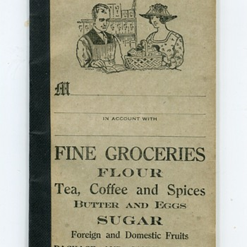 1900s Grocery Account Book - Office