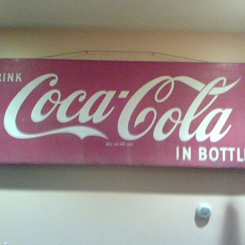 my favorite sign!  - Coca-Cola