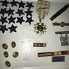 Military Pins and Stars I found at an auction
