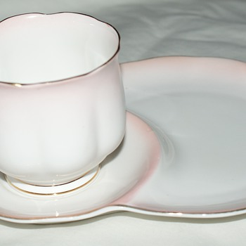 Pretty in Pink:  Royal Albert Bone China, England, Rainbow - China and Dinnerware