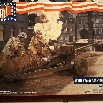 GI Joe 37mm Anti-Tank Gun Unboxing Part 1 Circa 2000 - Toys