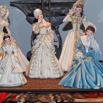 Florence Ceramic Figurines - Pottery