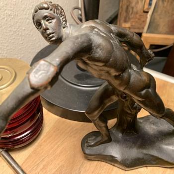 Bronze Romain sculpture - Fine Art