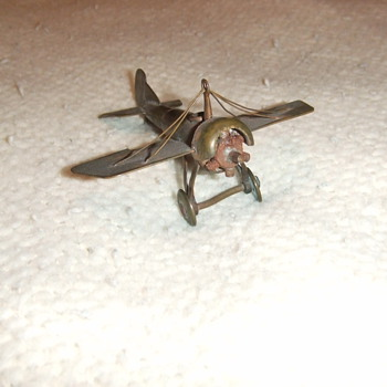 WW1 trench art plane - Military and Wartime