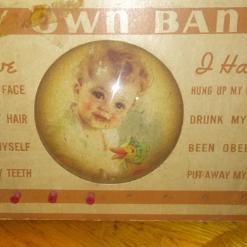 VINTAGE BABY BANK - Coin Operated