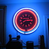 1940's Original Chrysler Dealership Double Neon Clock
