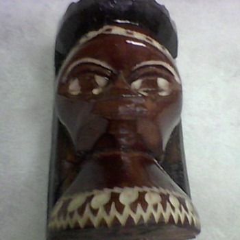 JAMAICAN WOOD CARVING - Folk Art