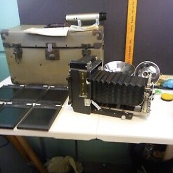 My Graflex Camera & Equipment  - Cameras
