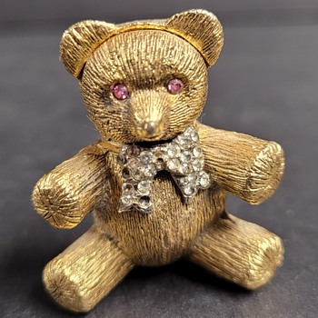 Max Factor Teddy Bear Perfume Holder - Bottles