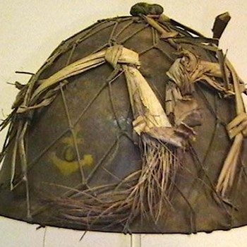 WW II Imperial Japanese Marine Helmet - Military and Wartime