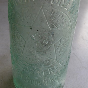 Richmond Brewery beer bottle