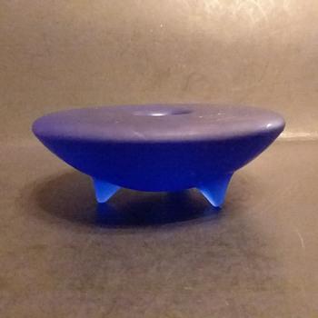 Sasaki candle holders by Soichiro Sasakura - Art Glass
