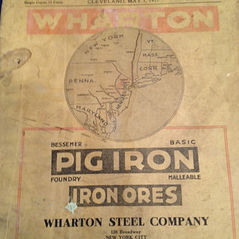 Iron Trade Review May 3, 1917 - Paper