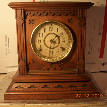 Antique Seth Thomas Clock - Clocks