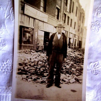 Grandpa In An Earthquake? (See First Photo!)  WHAT DO YOU THINK? - Photographs