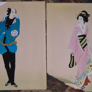 Two more Asian pieces... Art - Fine Art