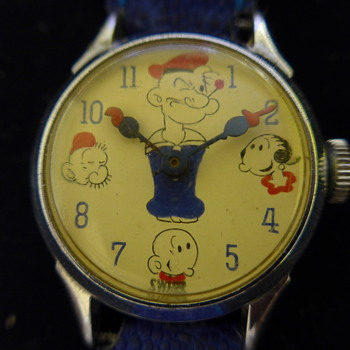 1948 Popeye Wrist Watch - Wristwatches