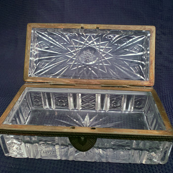 Cut Glass/Crystal Box - Furniture